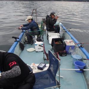 野尻湖のヒメマス釣り:秋の陣3回目・・・
