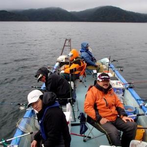 野尻湖ヒメマス釣り(7回目)は大撃沈・・・