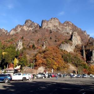 錦秋の妙義山で自然観察会・・・