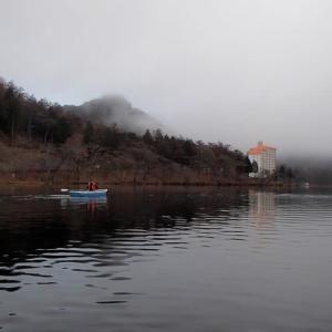 榛名湖のワカサギ釣り(5回目)