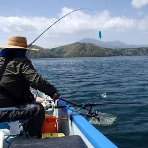 野尻湖のヒメマス釣り(7回目)