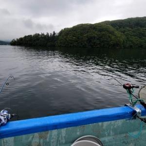 野尻湖ヒメマス釣り:ダブルつ抜けはしたけれど・・・