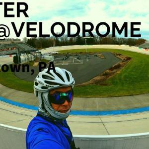 ロードバイクでベロドロームを走る