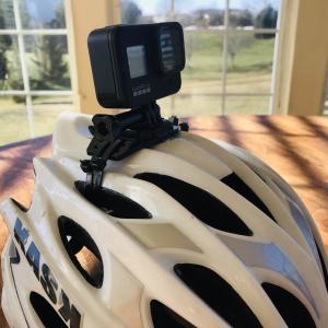 GoPro Hero 8をヘルメットに付けて氷点下5℃の中ロードバイク