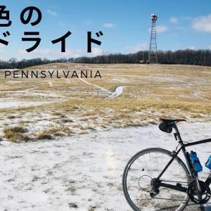 雪景色のロードバイクライド  |  GoPro Hero8をヘルメットに装着