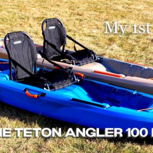 初めてのカヤック購入|キャンプで使うのが楽しみ LIFETIME Teton Angler 100 Kayak