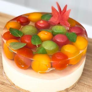 kiiパティシェ トマトレアチーズケーキ