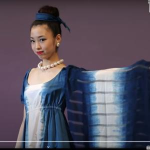 藍染ファッションショー
