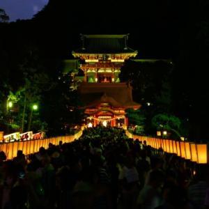 幻想的!夏の夜の風物詩~ぼんぼり祭~鶴岡八幡宮