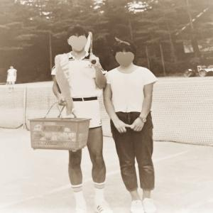 テニスコートの恋・・なぁーんちゃって^^;
