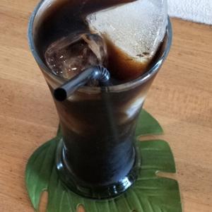 アイスコーヒー飲んでまったりと過ごす秋(^o^)