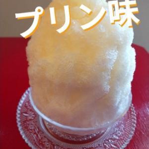 秋に嬉しい新味かき氷『プリン』