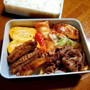 牛焼き肉&チキンヒーロー弁当
