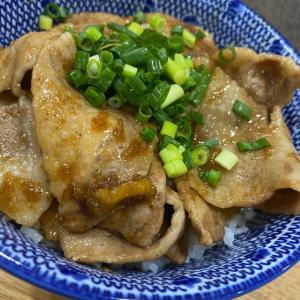 最近の【ヒノコ飯】基本、丼。