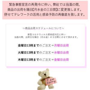 【1/14〜2/7】出荷スケジュール変更のご案内