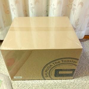 RSP大賞・賞品「BALMUDA (バルミューダ) The Toaster」が届きました♪