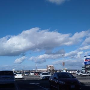 お魚みたいな雲☁