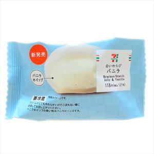 【セブン】極上のふわとろ食感!白いわらびバニラ登場!ふわとろわらび餅&濃厚ホイップが超爽快!