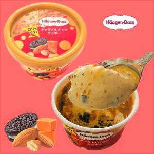 【ファミマ限定】カリッザクッ!ハーゲンダッツ最新作!濃厚な甘さを極めたキャラメルナッツクッキー!