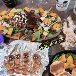 【プライベート】ハロウィンの夕食★♪