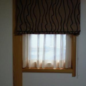 気分分転換はカーテン総取り替え