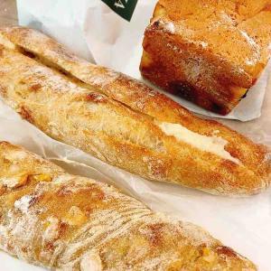 久しぶりにSAWAMURAのパン。
