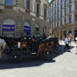 色んな職種のシーンが復活し出したフィッレンツェです!!