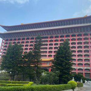 圓山大飯店で龍のパワーを浴びてきました
