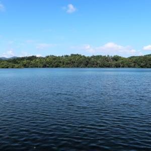 一碧湖でも秋の風を感じて