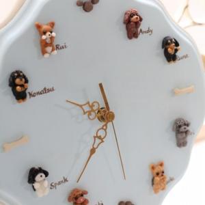 大好きな家族との時を刻む時計