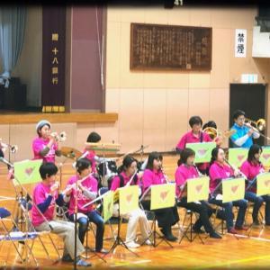 長与小学校2年生親子レクレーション♬演奏会