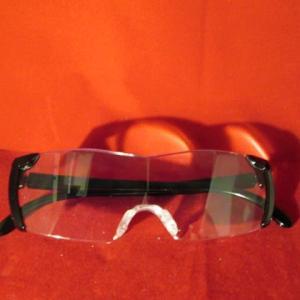 拡大眼鏡を購入したよ