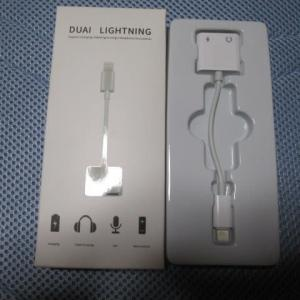 iPhone用イヤホン充電2in1を購入