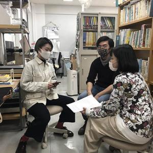 11/4 小笠原母島中学校と旅ムサweb - 対話型鑑賞