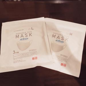 エアリズムマスク届きました