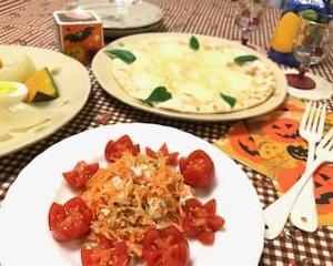 カッテージチーズと人参のマリネ(レシピ)