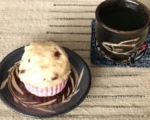 小豆入り  甘酒の蒸しケーキ