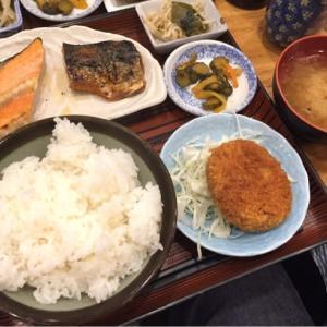 3品組み合わせ定食    /    芝浦割烹『い奈本』その7@田町