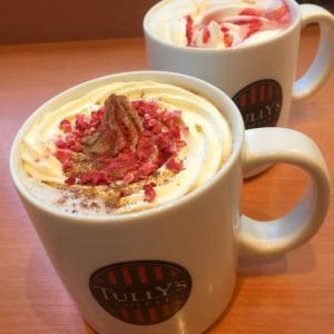 マスカルポーネティラミスラテ&ピーチメルバ ロイヤルミルクティー / TULLY'S COFFEE(タリーズコーヒー)