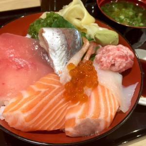 ランチ限定海鮮丼 / 魚魚彩(ととさい)@ イオンスタイル vol.3