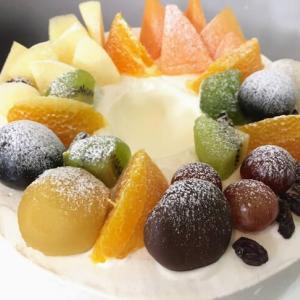 Birthday Cake 2021/妻へのバースデーケーキ