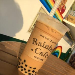 黒糖タピオカミルクティー / レインボーカフェ
