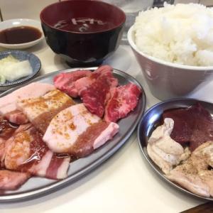 焼肉ランチセット / 焼肉ホルモン『うしお』