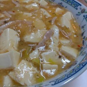 辛子高菜ラーメンから作る麻婆麺