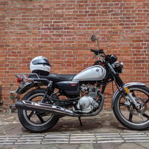 YB125SP納車 バイクデビューしましたよって話。