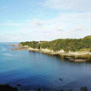 秋晴れの西海海岸