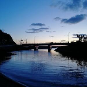 夕暮れの歌仙橋
