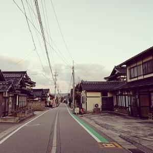 富来領家町の通学路
