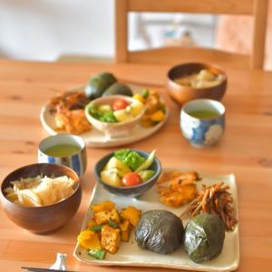めはり寿司のおひるごはん ☆