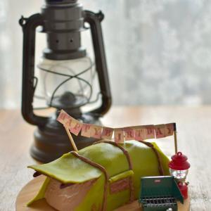 誕生日☆ノルディスクのテントなキャラケーキ☆